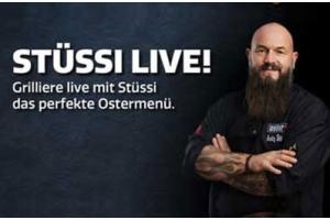 Grilliere live mit Stüssi das perfekte Ostermenü