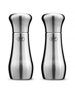 Weber Style Salz- & Pefferstreuer 10cm Edelstahl