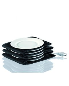 Küchenprofi Tellerwärmer elektrisch schwarz 200cm