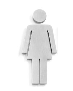 Zack Indici Türsymbol Frau