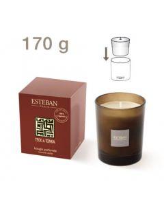 Duftkerze Esteban Teck & tonka