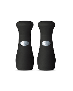 Weber Style Salz- & Peffermühle 10cm schwarz