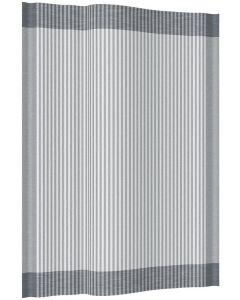 Meyer-Mayor Küchentuch Streifen Schmal Zwirnkette grau