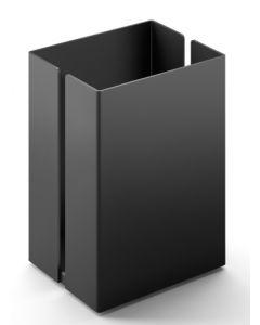 Zack Potes Utensilienbox klein, schwarz
