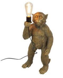 Affen Stehleuchte Koko/ gold