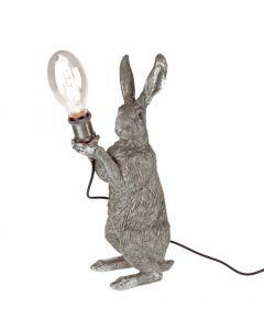Tischleuchte Meister Lampe, silber