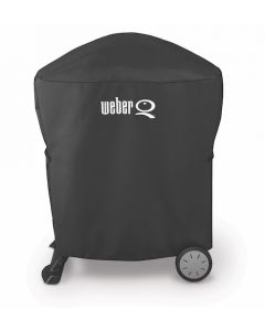 Weber Premium Abdeckhaube für Weber Q 120-/1200 u. 200-/2000-Serie mit Standart Rollwagen