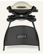 Weber® Q 1000 – Gasgrill mit Stand, Titan