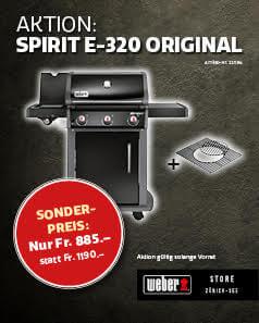 Weber Spirit E320 Aktion