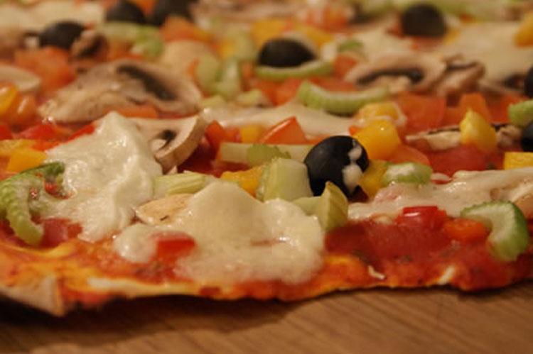 Rezept: Pizza (Vegetarisch)