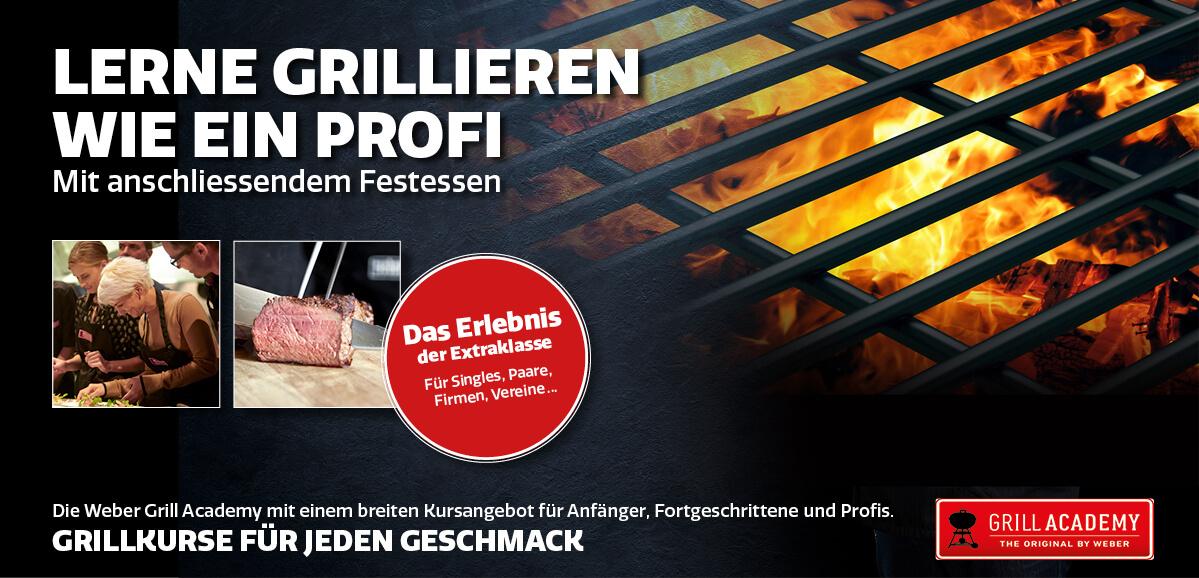 Weber Grill Academy – Lerne grillieren wie ein Profi!